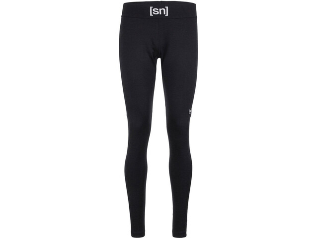 super.natural Active Pantaloni Uomo, jet black/admiral